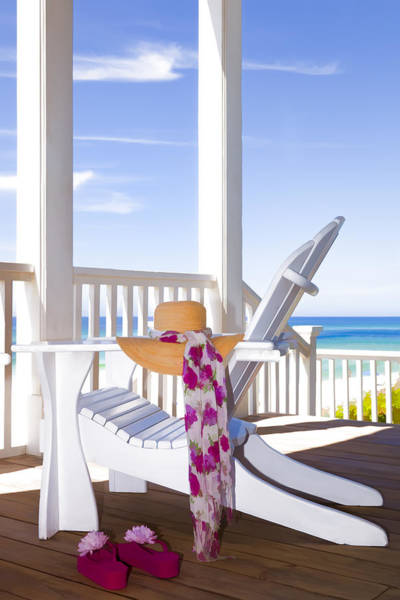 Destin Photograph - Nothing But Time by Janet Fikar