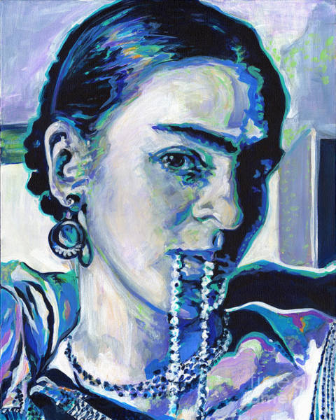 Painting - Frida Kahlo by Tanya Filichkin