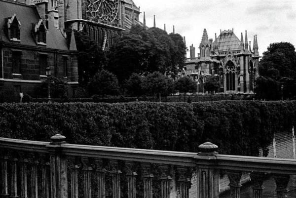 Photograph - Notre Dame 2 by Lee Santa
