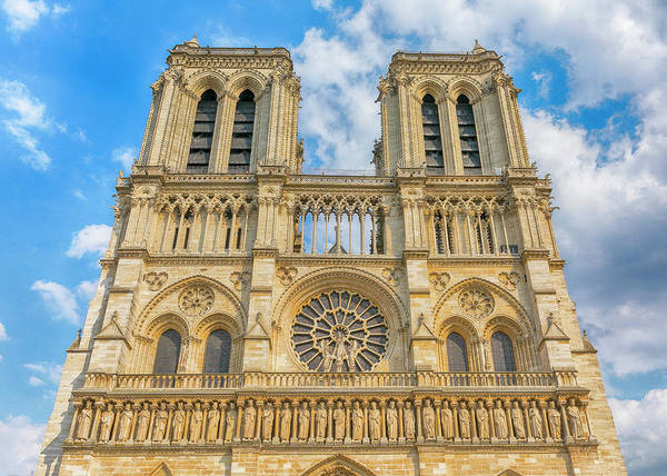 Wall Art - Photograph - Notre Dame Bell Towers - #1 by Stephen Stookey