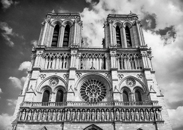 Wall Art - Photograph - Notre Dame Bell Towers - #2 by Stephen Stookey