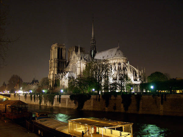 Photograph - Notre Dame Cathedral by Mark Currier