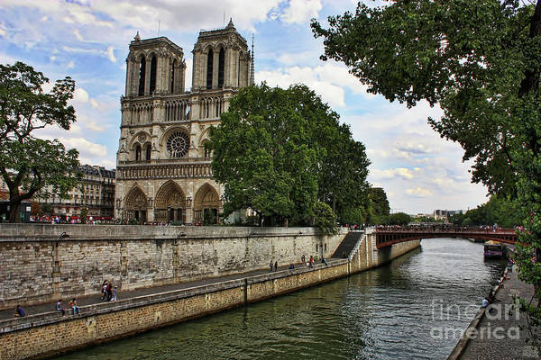 Photograph - Notre Dame Day by Carol Groenen