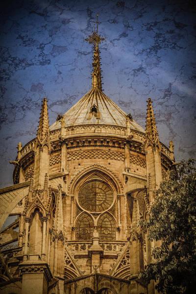 Photograph - Paris, France - Notre-dame De Paris - Apse by Mark Forte
