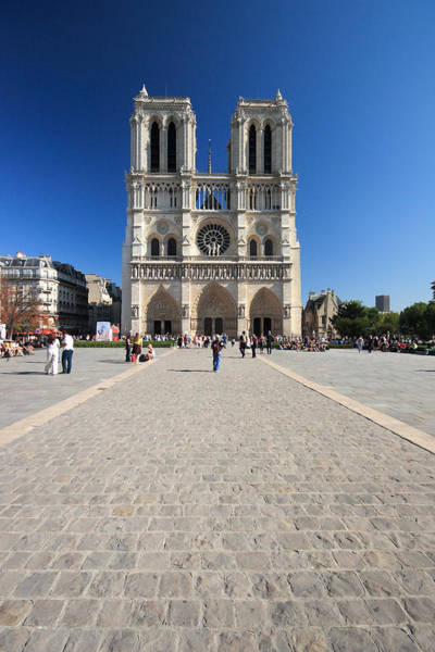 Photograph - Notre Dame De Paris Cathedral by Pierre Leclerc Photography