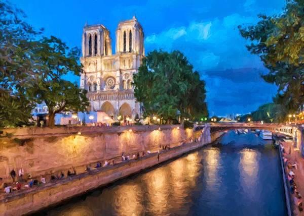 Digital Art - Notre Dame De Paris by Charmaine Zoe