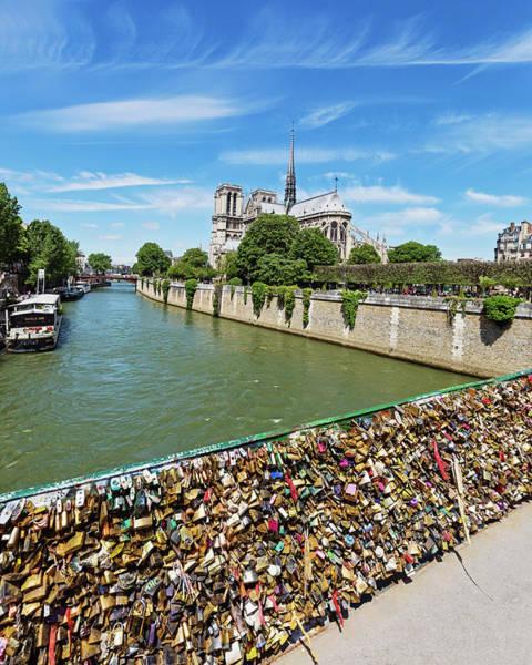 Wall Art - Photograph - Notre Dame Love Locks by Melanie Alexandra Price
