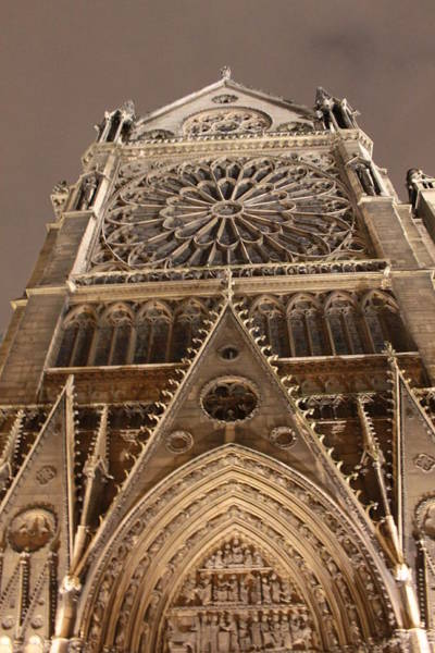 Photograph - Notre Dame North by Christopher Kirby