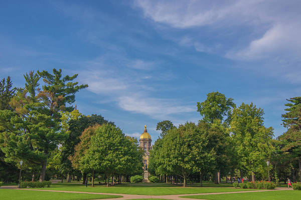 Holy Ghost Photograph - Notre Dame University 6 by David Haskett II