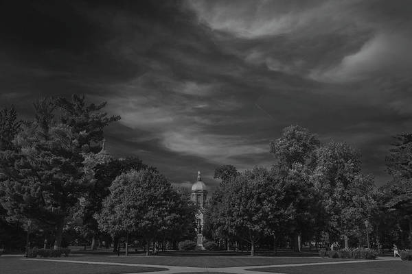 Holy Ghost Photograph - Notre Dame University 6a by David Haskett II