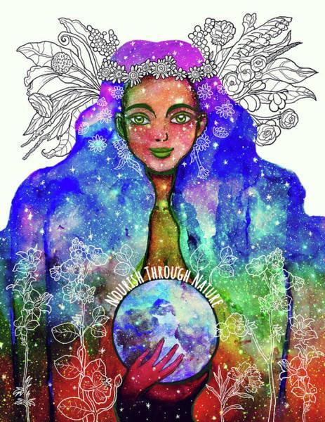 Ms Mixed Media - Nourish Through Nature by Srimati Arya