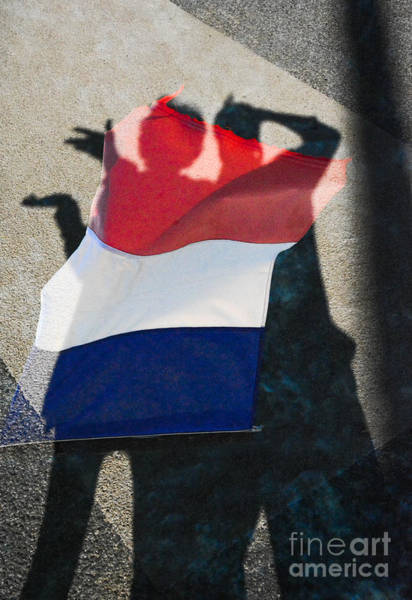 Vive La France Wall Art - Photograph - Nous Sommes Tous Francais by Thomas Carroll