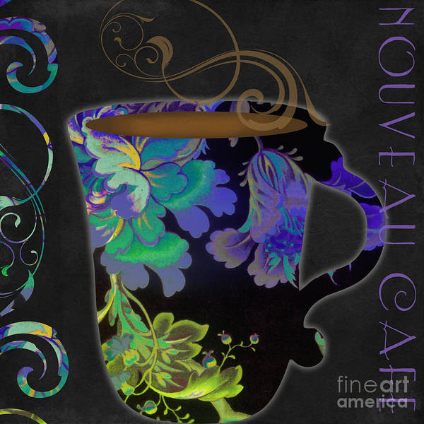 Wall Art - Painting - Nouveau Cafe Cool by Mindy Sommers