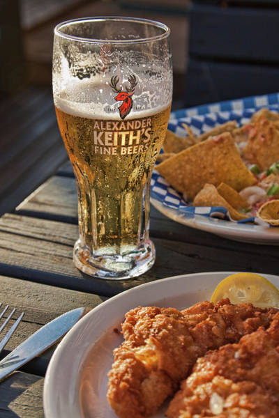 Photograph - Nova Scotia Beer And Food by Tatiana Travelways