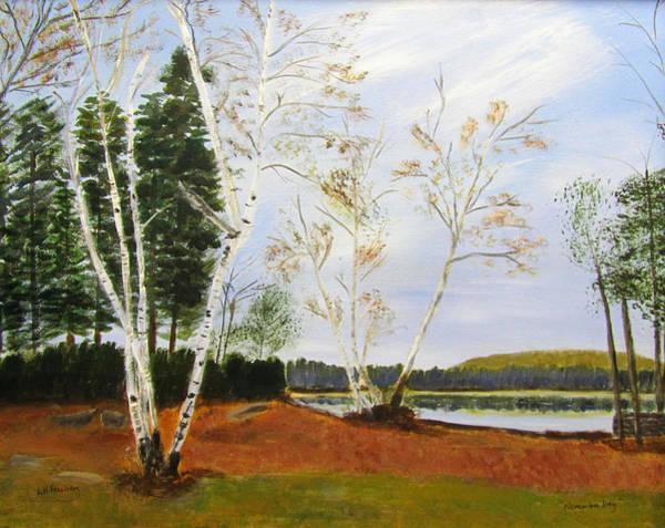 Painting - November Day by Linda Feinberg