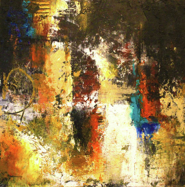 Complimentary Colors Mixed Media - November Evening 2 by Patricia Lintner