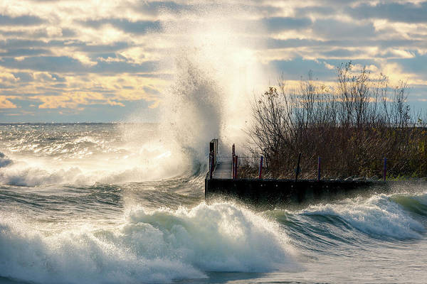 Photograph - November Gales by James Meyer