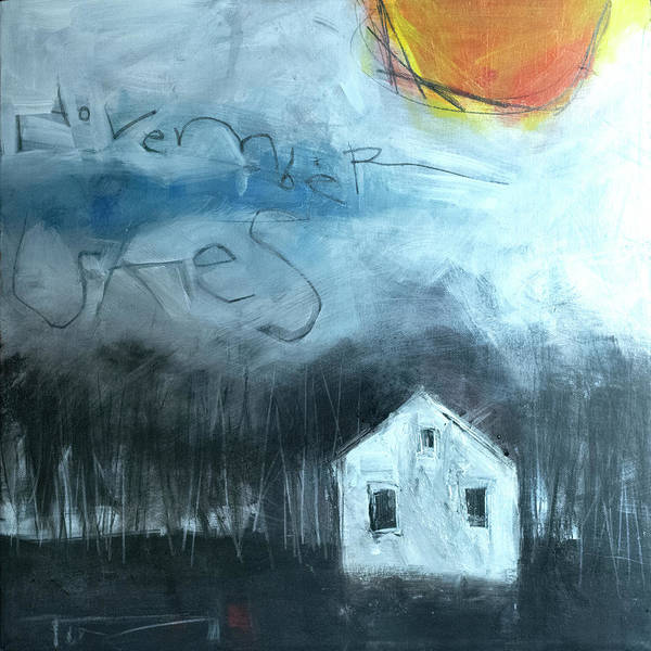 Painting - November Skies by Tim Nyberg