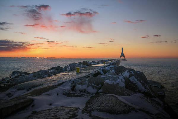 Photograph - November Sunrise II 11222015 by James Meyer