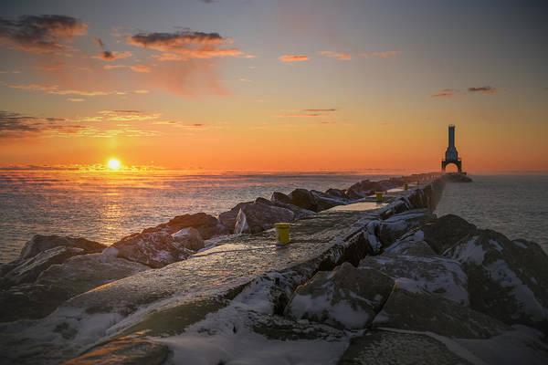 Photograph - November Sunrise IIi 11222015 by James Meyer