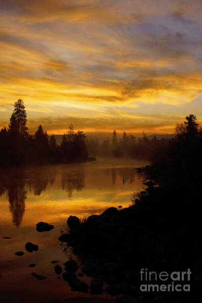 Photograph - November Sunrise by Beve Brown-Clark Photography