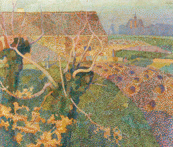 Painting - Novemberzon by Jan Toorop