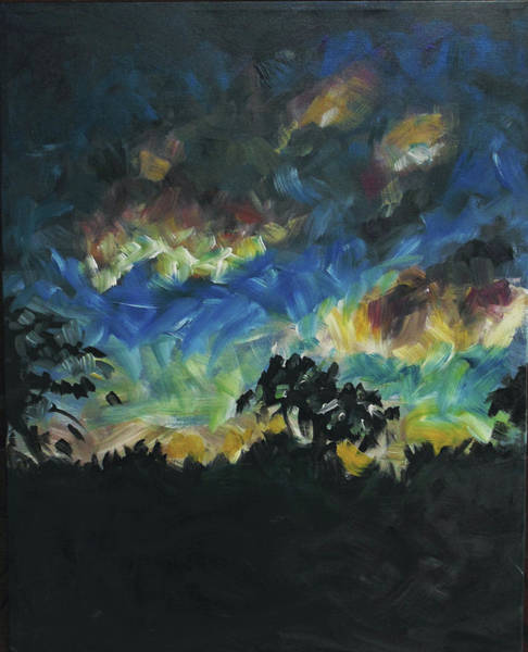 Painting - Now Dusk by Susan Moore