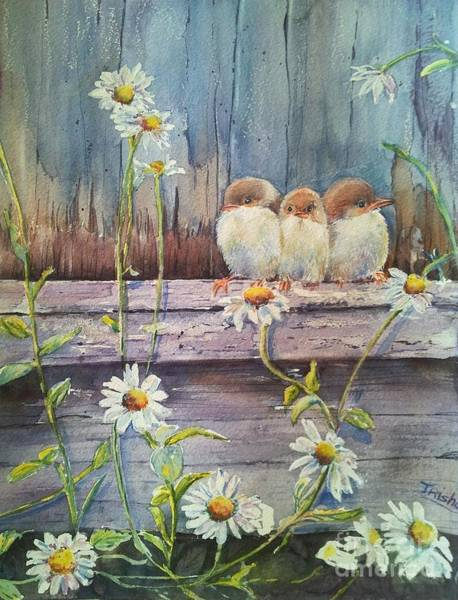 Fencepost Painting - Now Where? by Patricia Pushaw