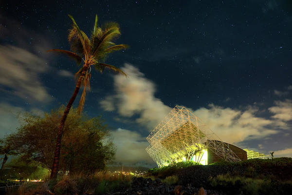 Photograph - Nrel Building At Night by Christopher Johnson