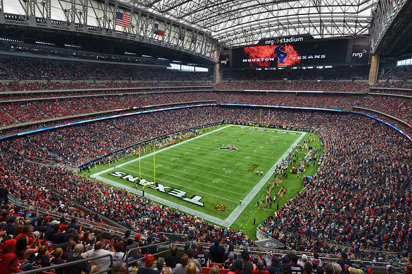 Photograph - Nrg Stadium - Houston Texans  by Mark Whitt