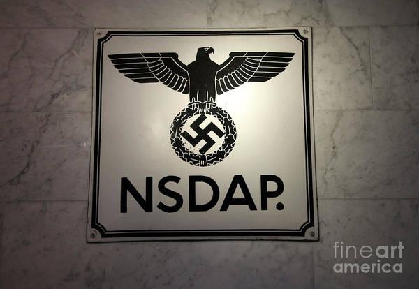 Jewish Digital Art - Nsdap Sign  by Chris Evans
