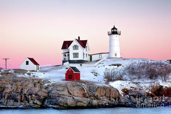 Wall Art - Photograph - Nubble Glow by Susan Cole Kelly