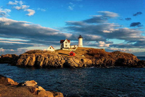 Photograph - Nubble Light IIi by Tom Singleton