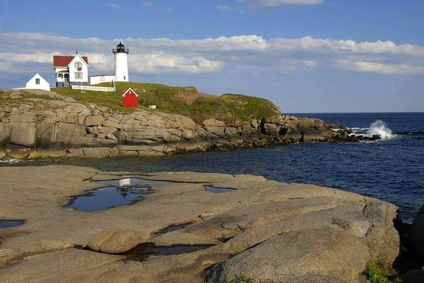 Photograph - Nubble Light Maine by AnnaJanessa PhotoArt