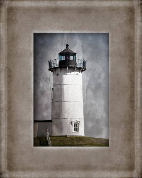 Maine Coast Wall Art - Photograph - Nubble Light Maine by Carol Leigh