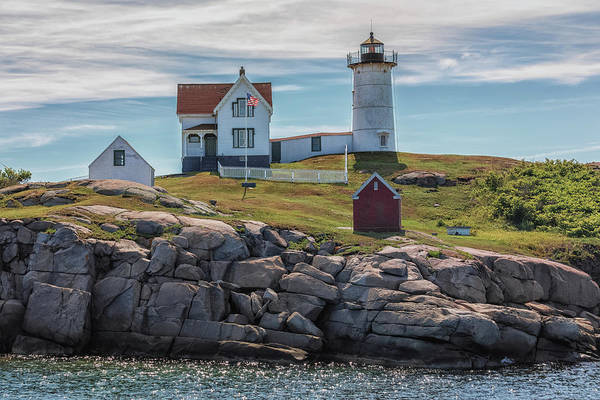 Photograph - Nubble Lighthouse by Brian MacLean