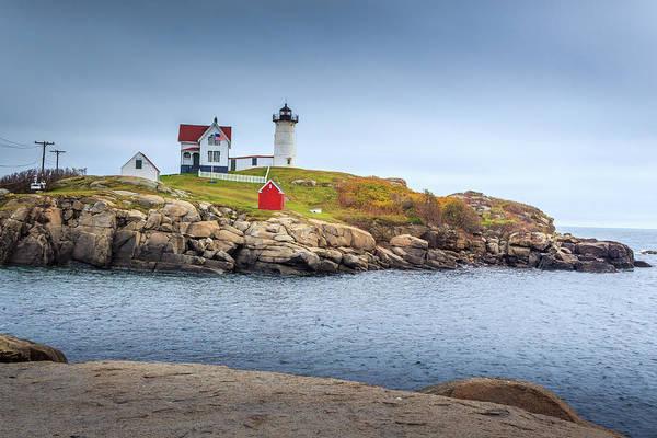 Photograph - Nubble Lighthouse by Doug Camara