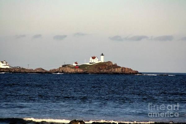 Wall Art - Photograph - Nubble Lighthouse In Cape Neddick by Mesa Teresita