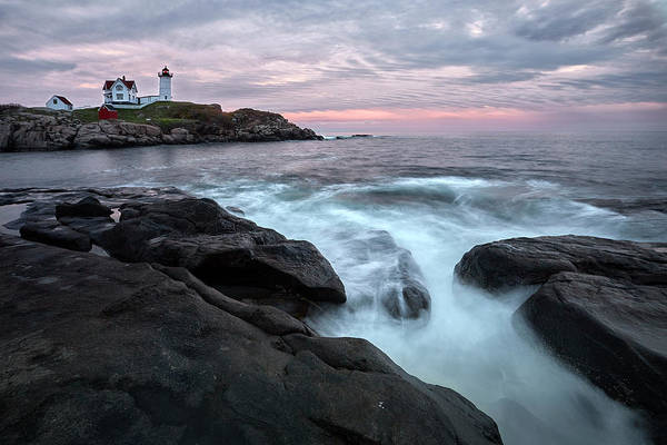 Photograph - Nubble Lighthouse Of Maine by Jon Glaser