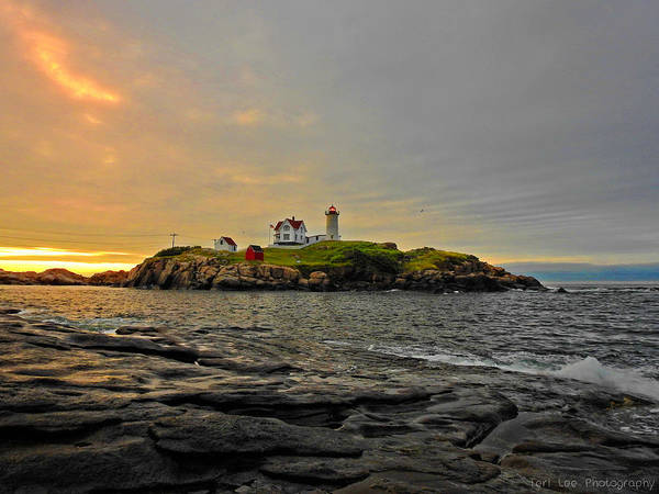 Photograph - Nubble Lighthouse by Teri Ridlon