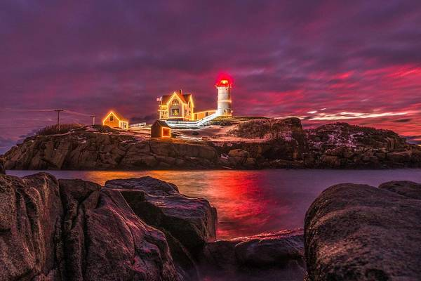 Photograph - Nubble-rific by Bryan Xavier