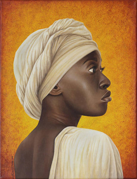 African Woman Painting - Nubia by Horacio Cardozo