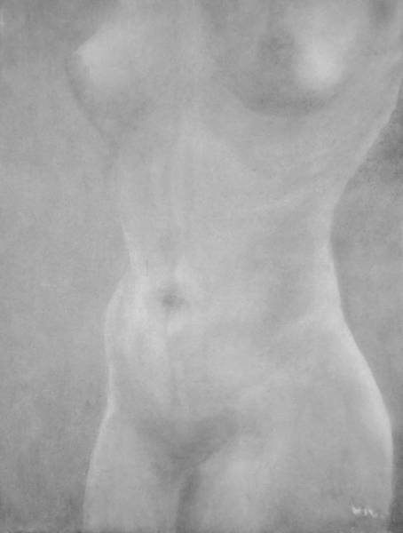 Drawing - Nude '11 by VIVA Anderson