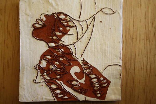 Ceramic Art - Nude 12 - Tile by Gloria Ssali