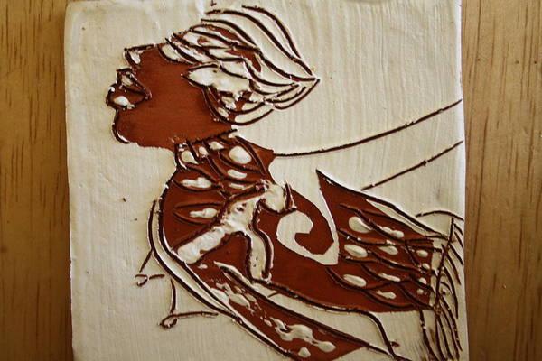 Ceramic Art - Nude 2 - Tile by Gloria Ssali