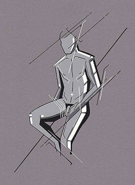Painting - Nude 2 by David Hargreaves