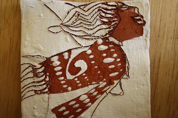 Ceramic Art - Nude 3 - Tile by Gloria Ssali