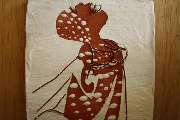 Ceramic Art - Nude 4 - Tile by Gloria Ssali