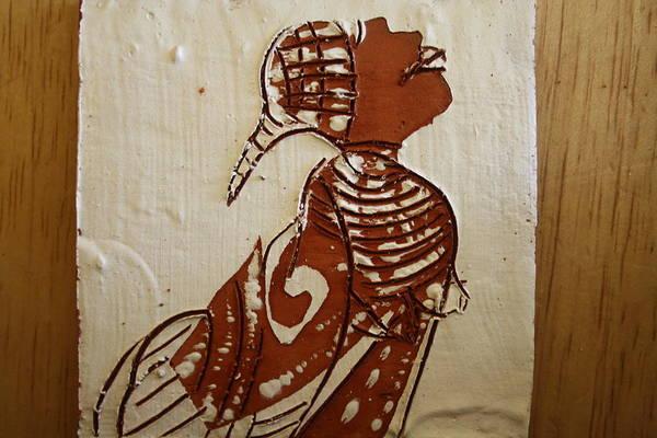 Ceramic Art - Nude 5 - Tile by Gloria Ssali