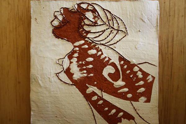 Ceramic Art - Nude 6 - Tile by Gloria Ssali